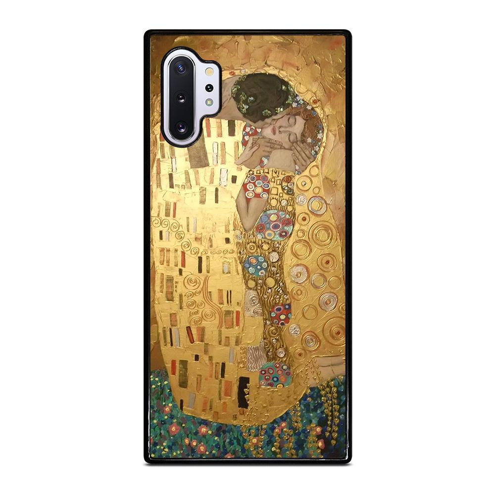 coque custodia cover fundas hoesjes j3 J5 J6 s20 s10 s9 s8 s7 s6 s5 plus edge D26047 GUSTAV KLIMT THE KISS Samsung Galaxy Note 10 Plus Case