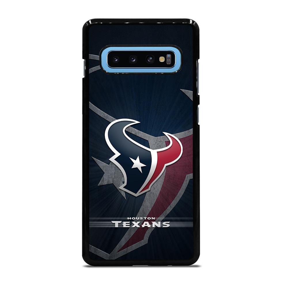 coque custodia cover fundas hoesjes j3 J5 J6 s20 s10 s9 s8 s7 s6 s5 plus edge D27417 HOUSTON TEXANS NFL Samsung Galaxy S10 Plus Case