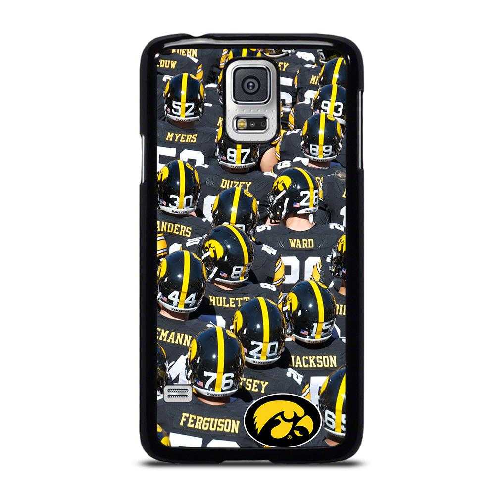 coque custodia cover fundas hoesjes j3 J5 J6 s20 s10 s9 s8 s7 s6 s5 plus edge D27958 IOWA HAWKEYES FOOTBALL #2 Samsung Galaxy S5 Case