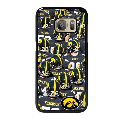 coque custodia cover fundas hoesjes j3 J5 J6 s20 s10 s9 s8 s7 s6 s5 plus edge D27962 IOWA HAWKEYES FOOTBALL #2 Samsung Galaxy S7 Case