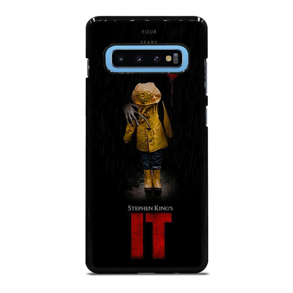 coque custodia cover fundas hoesjes j3 J5 J6 s20 s10 s9 s8 s7 s6 s5 plus edge D27975 IT PENNYWISE CLOWN 1 Samsung Galaxy S10 Plus Case