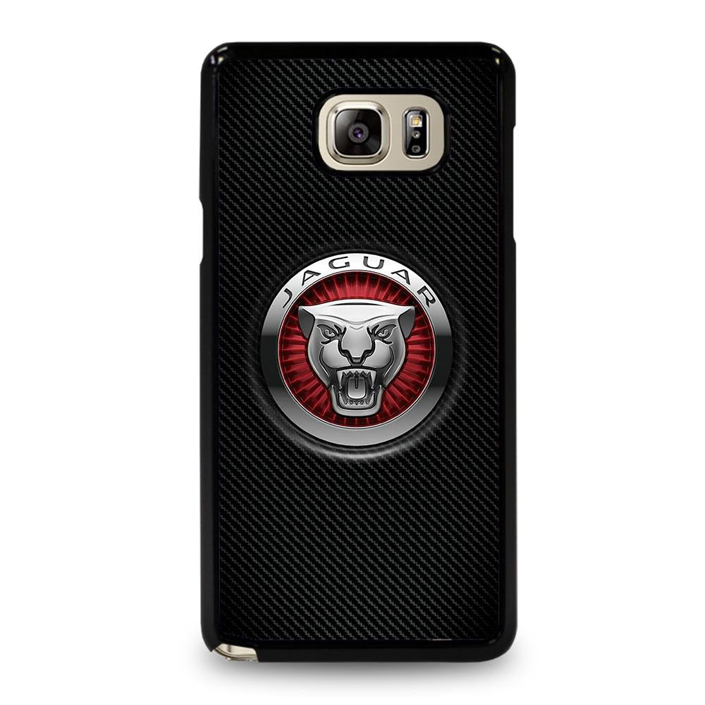 coque custodia cover fundas hoesjes j3 J5 J6 s20 s10 s9 s8 s7 s6 s5 plus edge D28206 JAGUAR LOGO Samsung Galaxy Note 5 Case
