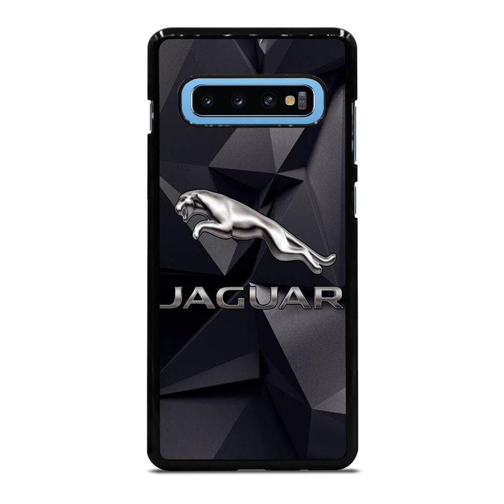 coque custodia cover fundas hoesjes j3 J5 J6 s20 s10 s9 s8 s7 s6 s5 plus edge D28168 JAGUAR LOGO 2 Samsung Galaxy S10 Plus Case