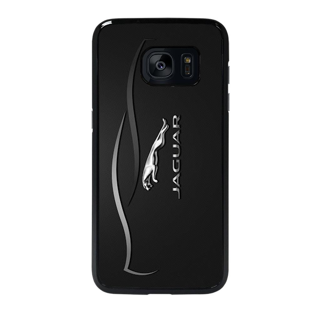 coque custodia cover fundas hoesjes j3 J5 J6 s20 s10 s9 s8 s7 s6 s5 plus edge D28199 JAGUAR LOGO 4 Samsung Galaxy s7 edge Case