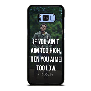 coque custodia cover fundas hoesjes j3 J5 J6 s20 s10 s9 s8 s7 s6 s5 plus edge D28065 J COLE QUOTE #1 Samsung Galaxy S8 Plus Case