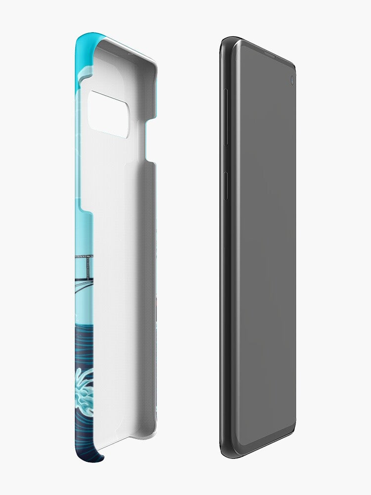 Jaws: The Orca Illustration Coque Samsung S10