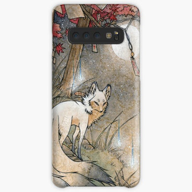 Kitsune Cat Tattoo  Coque Samsung S10