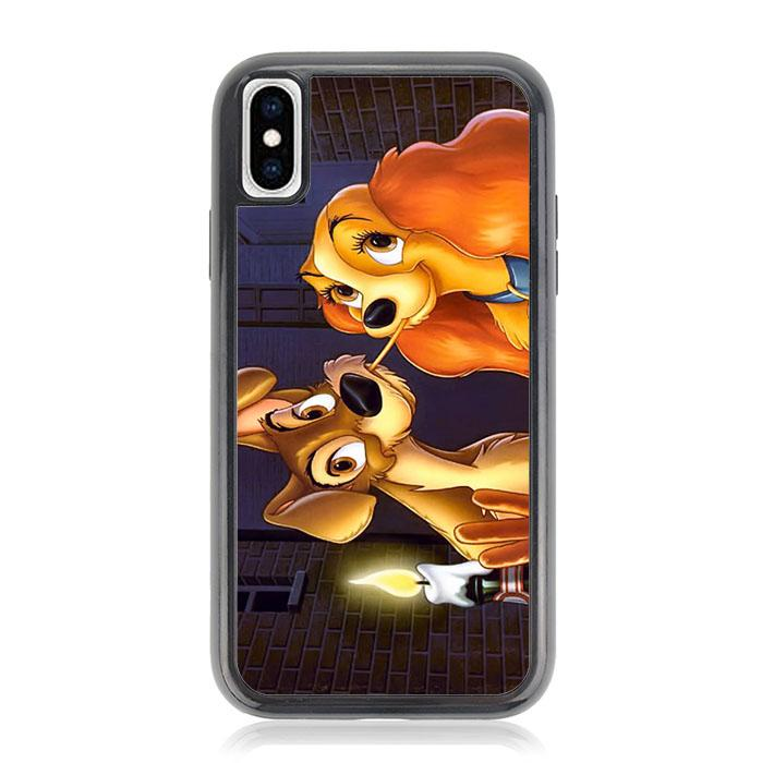 LADY AND TRAMP DISNEY Z1223 iPhone XS Max coque