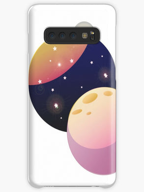 Space Heartbeat Coque Samsung S10