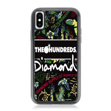The Hundreds Diamond Pattern Z5379 iPhone XS Max coque