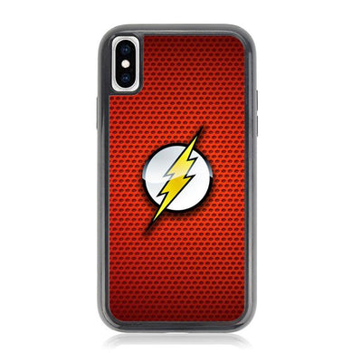 The Justice League The Flash Logo XZ5669 iPhone XS Max coque