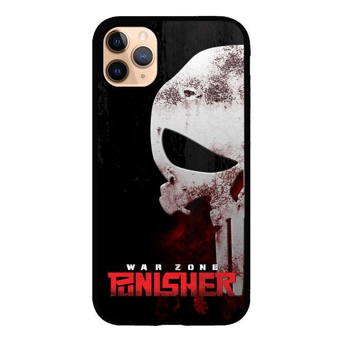 The Punisher Logo Z3502 iPhone 11 Pro coque