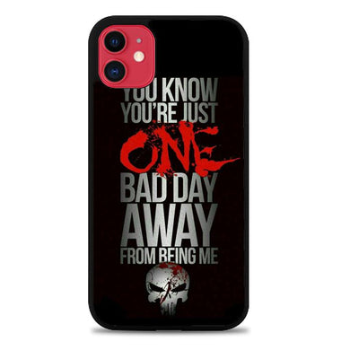 The Punisher skul Quotes Z4263 iPhone 11 coque