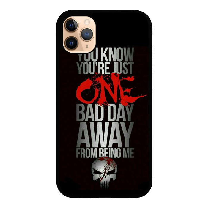 The Punisher skul Quotes Z4263 iPhone 11 Pro Max coque