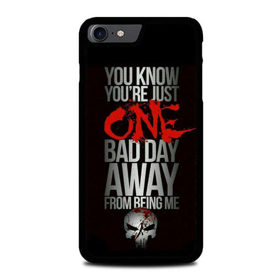 The Punisher skul Quotes Z4263 iPhone 7 , iPhone 8 coque