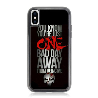 The Punisher skul Quotes Z4263 iPhone X, XS coque