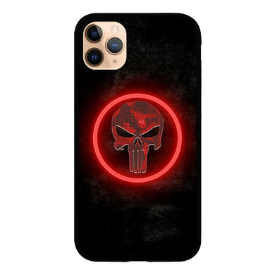 The punisher Skul Logo Z4268 iPhone 11 Pro Max coque