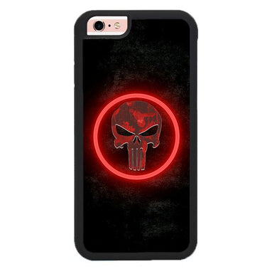 The punisher Skul Logo Z4268 iPhone 6 , 6S coque