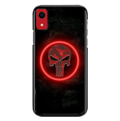 The punisher Skul Logo Z4268 iPhone XR coque