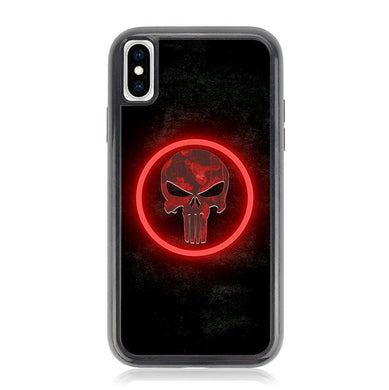 The punisher Skul Logo Z4268 iPhone X, XS coque