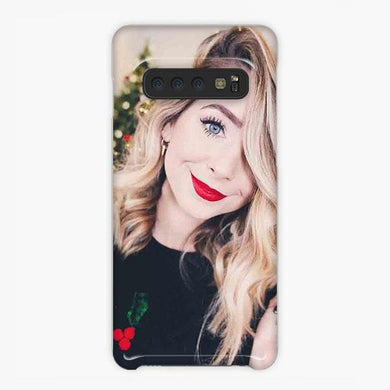 Coque Samsung galaxy S5 S6 S7 S8 S9 S10 S10E Edge Plus Zoella Christmas Tree