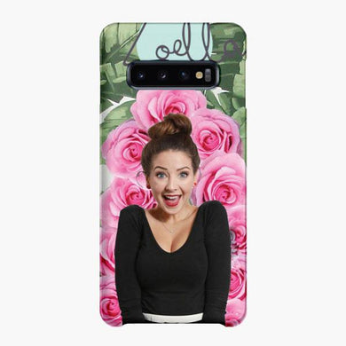 Coque Samsung galaxy S5 S6 S7 S8 S9 S10 S10E Edge Plus Zoella Life Rose