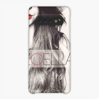 Coque Samsung galaxy S5 S6 S7 S8 S9 S10 S10E Edge Plus Zoella Long Hair And Lips Sxsy