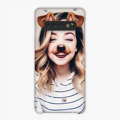 Coque Samsung galaxy S5 S6 S7 S8 S9 S10 S10E Edge Plus Zoella Sug Cute Meme Dog