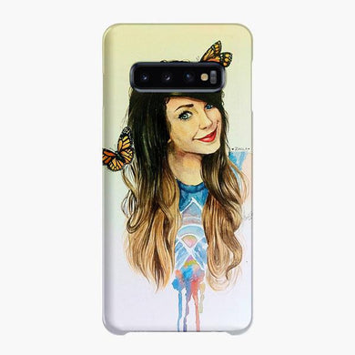 Coque Samsung galaxy S5 S6 S7 S8 S9 S10 S10E Edge Plus Zoella Watercolor