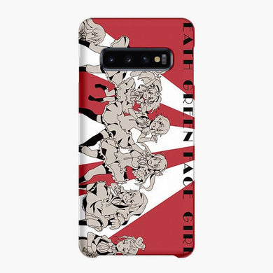 Coque Samsung galaxy S5 S6 S7 S8 S9 S10 S10E Edge Plus Zombieland Saga Anime Girls