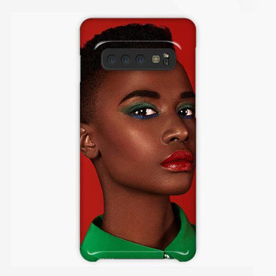 Coque Samsung galaxy S5 S6 S7 S8 S9 S10 S10E Edge Plus Zozibini Tunzi Lips Red