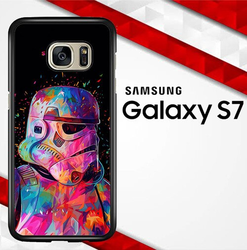 Star Wars Colourfull S0152 coque Samsung Galaxy S7