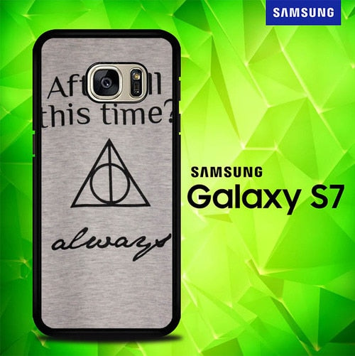 Fancy Harry Potter Love Quotes S0195 coque Samsung Galaxy S7