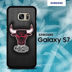 Chicago Bulls Windy City O0907 coque Samsung Galaxy S7