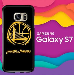 Strength in Numbers GSW O6795 coque Samsung Galaxy S7