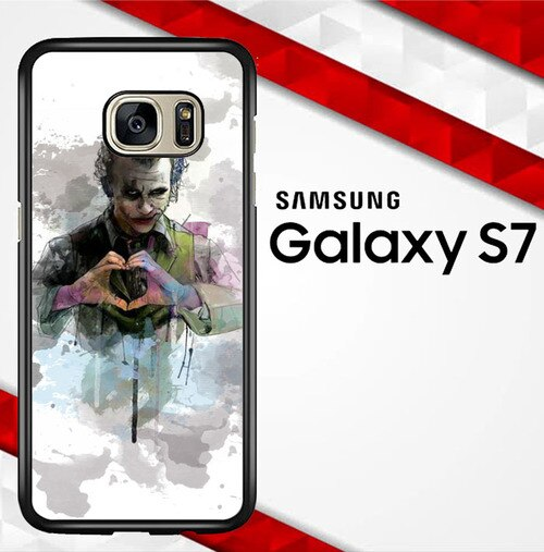 Joker Water Colour O0455 coque Samsung Galaxy S7