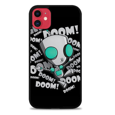 invader zim gir doom song Z0621 coque iphone 11