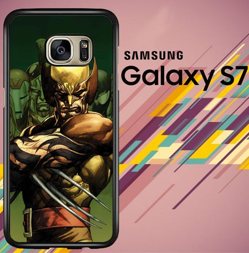 Dark Wolverine X-Man And Friend coque Samsung Galaxy S7