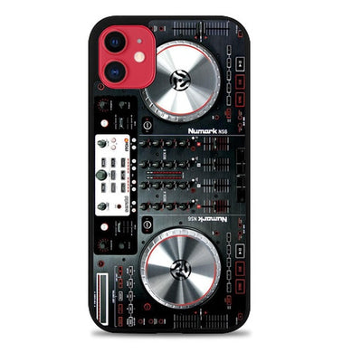 Digital mixer DJ turntable electronic music F0362 coque iphone 11