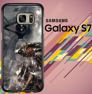 Assassins Creed 4 Black Flag Z0120 coque Samsung Galaxy S7