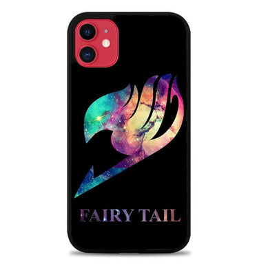 Fairy Tail Logo Galaxy Space Z0172 coque iphone 11