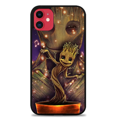 Groot Dancing And Smile Z0190 coque iphone 11