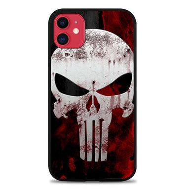 Marvel Superhero PUNISHER  logo Z0505 coque iphone 11