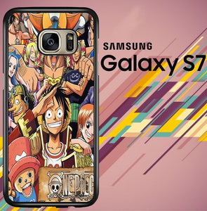Team One Piece Pirrate Z0809 coque Samsung Galaxy S7