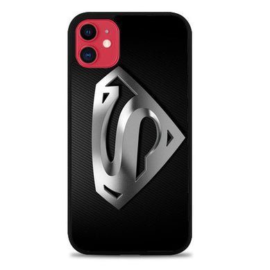 Superman Silver Logo Z1291 coque iphone 11
