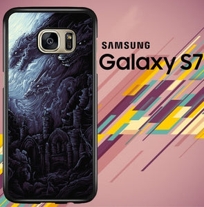 The Earth Itself Z1392 coque Samsung Galaxy S7