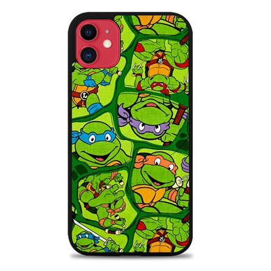 Teenage Mutant Ninja Turtles Collage Z1415 coque iphone 11