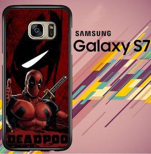 deadpool Z2092 coque Samsung Galaxy S7