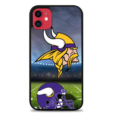 Minnesota Vikings logo Z3021 coque iphone 11