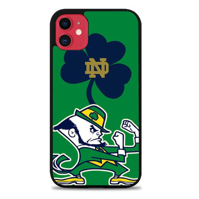 Notre Dame Fighting Irish logo Z3204 coque iphone 11